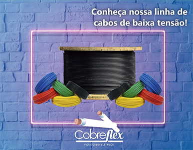 3 x 4,00 mm cabo flexivel Cobreflex pp 300/500v (R$/m)  - Multiplus Store