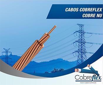 95,00 mm  19 fios cabo de cobre nu Cobreflex (R$/m)  - Multiplus Store