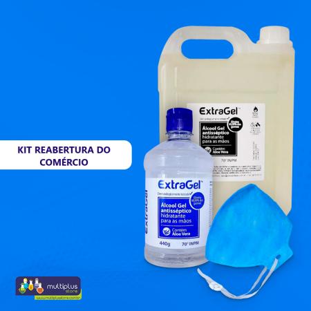 Kit Reabertura do Comércio - Desconto 5%  - Multiplus Store