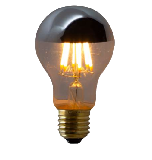 Lampada de Filamento LED A19 Defletora 6W