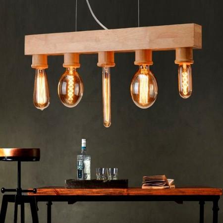 Lampada de Filamento LED A19 Defletora 6W - Dourada  - Multiplus Store