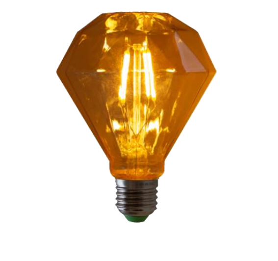 Lampada de Filamento LED D95 Squirrel Cage 4W