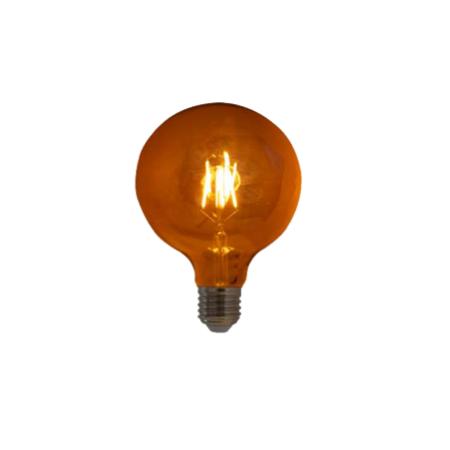 Lampada de Filamento LED G125 Squirrel Cage 4W 110V Dimerizavel