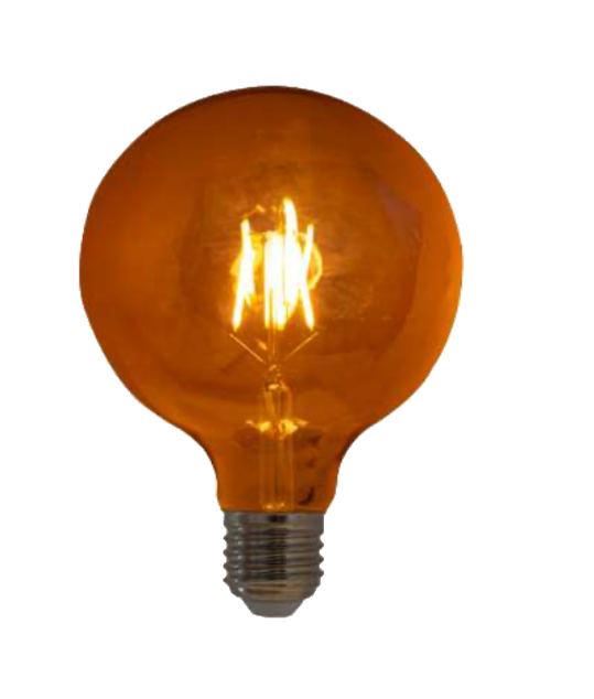 Lampada de Filamento LED G125 Squirrel Cage 4W Bivolt