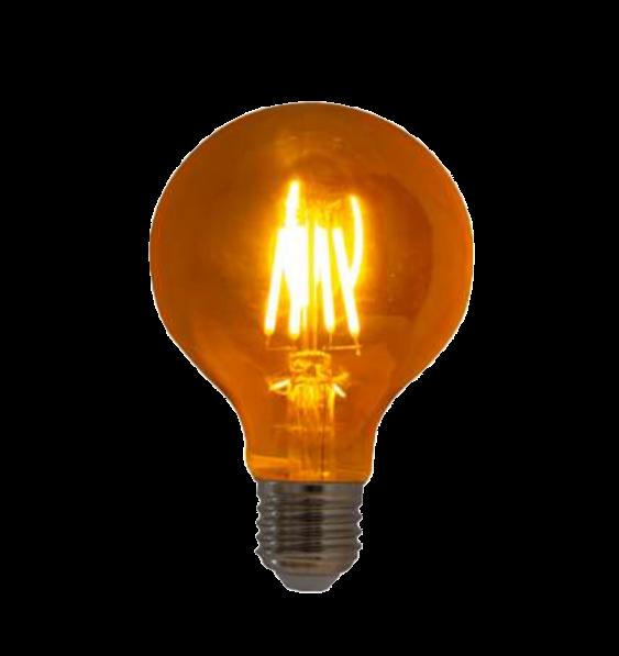 Lampada de Filamento LED G80 Squirrel Cage 4W Bivolt