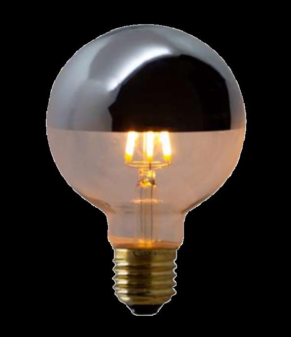 Lampada de Filamento LED G95 Defletora 6W