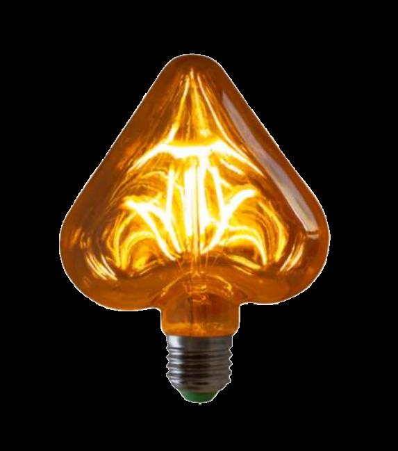 Lampada de Filamento LED HEART Squirrel Cage 4W