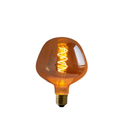 Lampada de Filamento LED P130 Spiral 4W