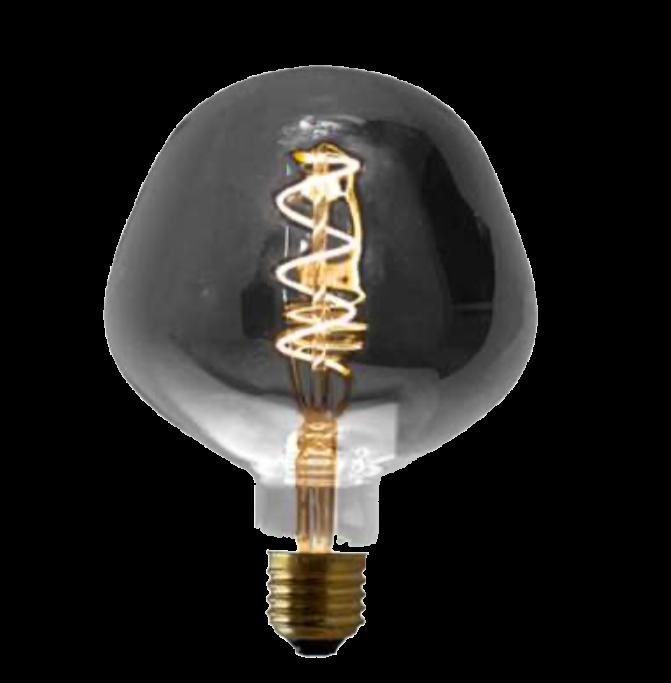 Lampada de Filamento LED P130 Spiral 4W - Fume