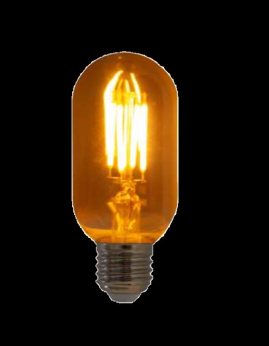 Lampada de Filamento LED T45 Spiral 4W 110V Dimerizavel