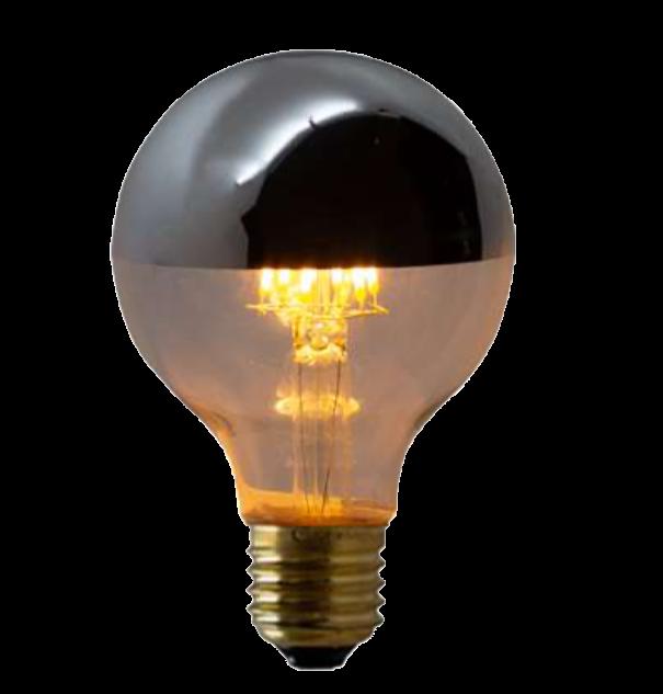 Lampada de Filamento LEDG80 Defletora 6W