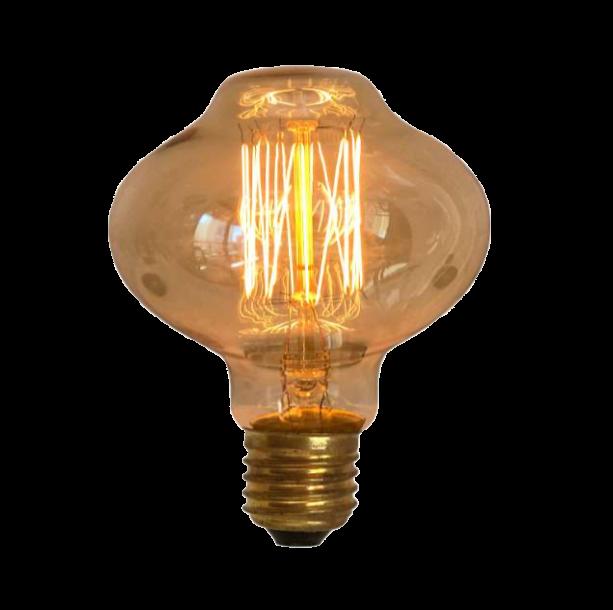 Lampada de Resistencia de Carbono L80 Squirrel Cage 40W 110V  - Multiplus Store