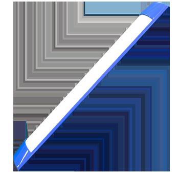18w azul   luminária Ideal led slim  - Multiplus Store