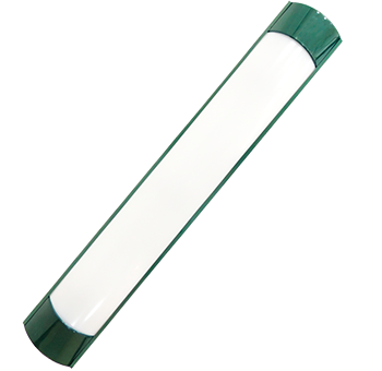 18w verde   luminária Ideal led slim