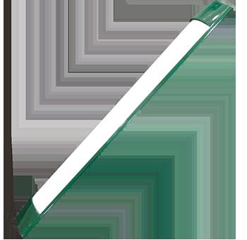 18w verde   luminária Ideal led slim  - Multiplus Store