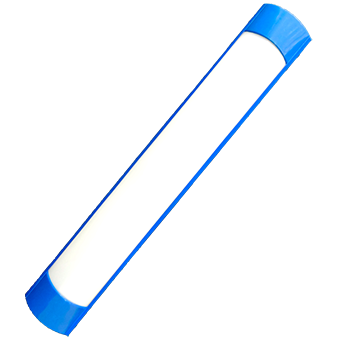 mg 36w azul   luminária Ideal led slim  - Multiplus Store