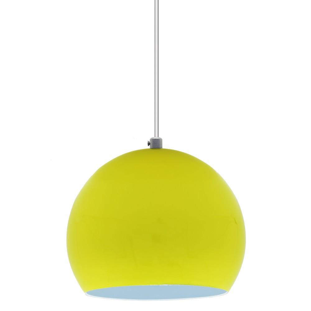 Pendente Bola 14cm Amarelo - Sciaza  - Multiplus Store