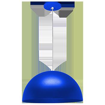 pendente Sciaza  meia bola azul