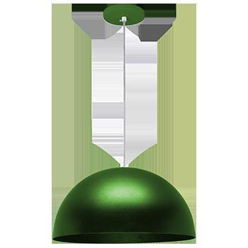 pendente Sciaza  meia bola verde