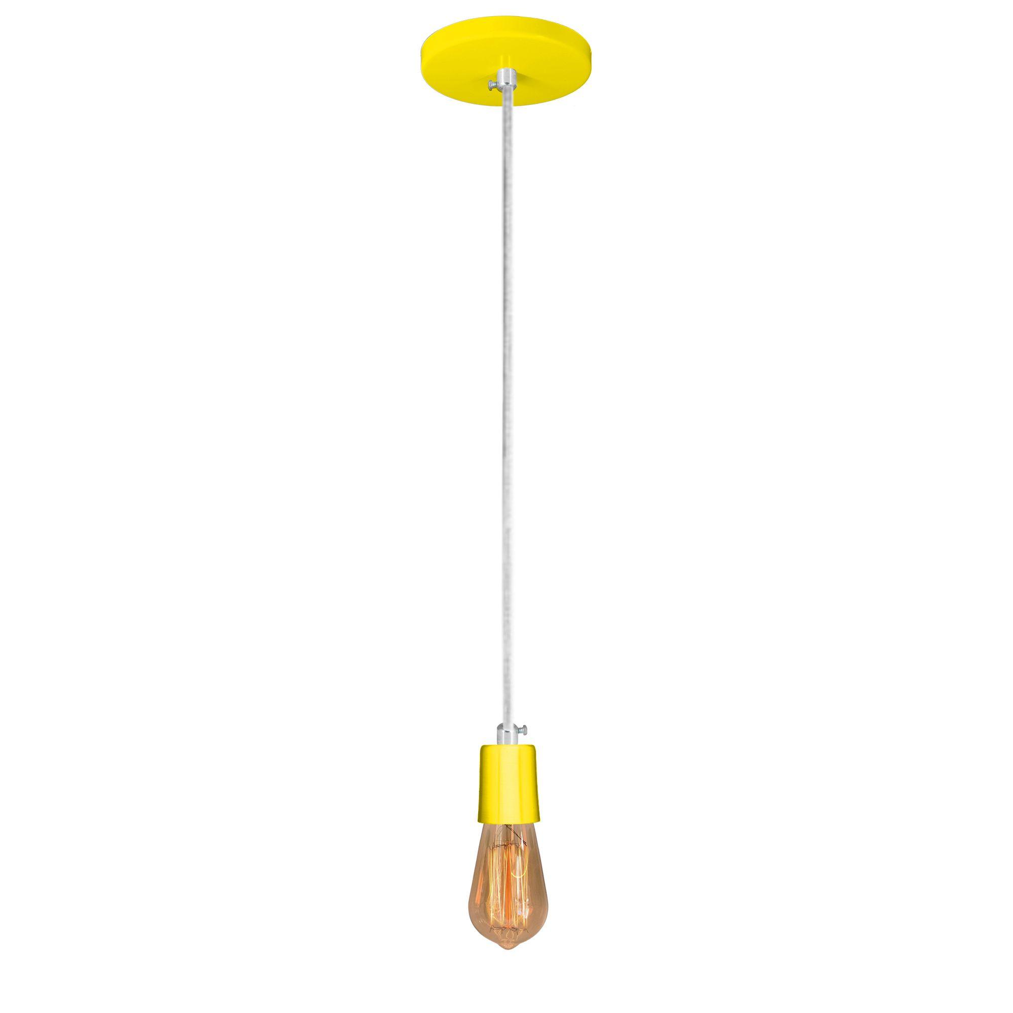 pendente Sciaza  slim multiuso amarelo  - Multiplus Store
