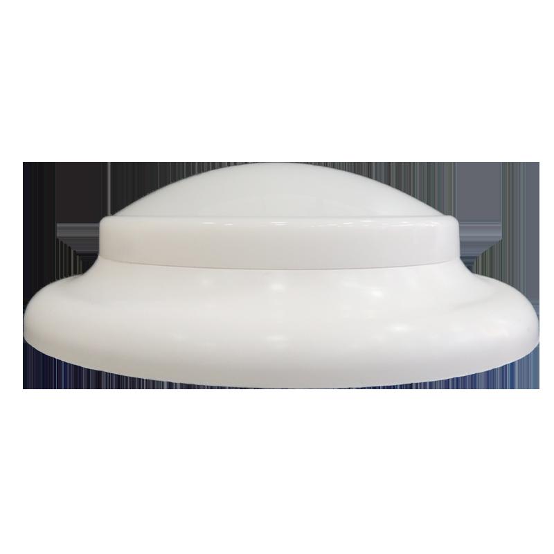 plafon Ideal circular de led sem fixação magnética branco