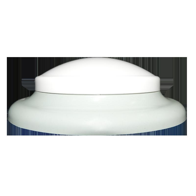 plafon Ideal circular de led sem fixação magnética cinza