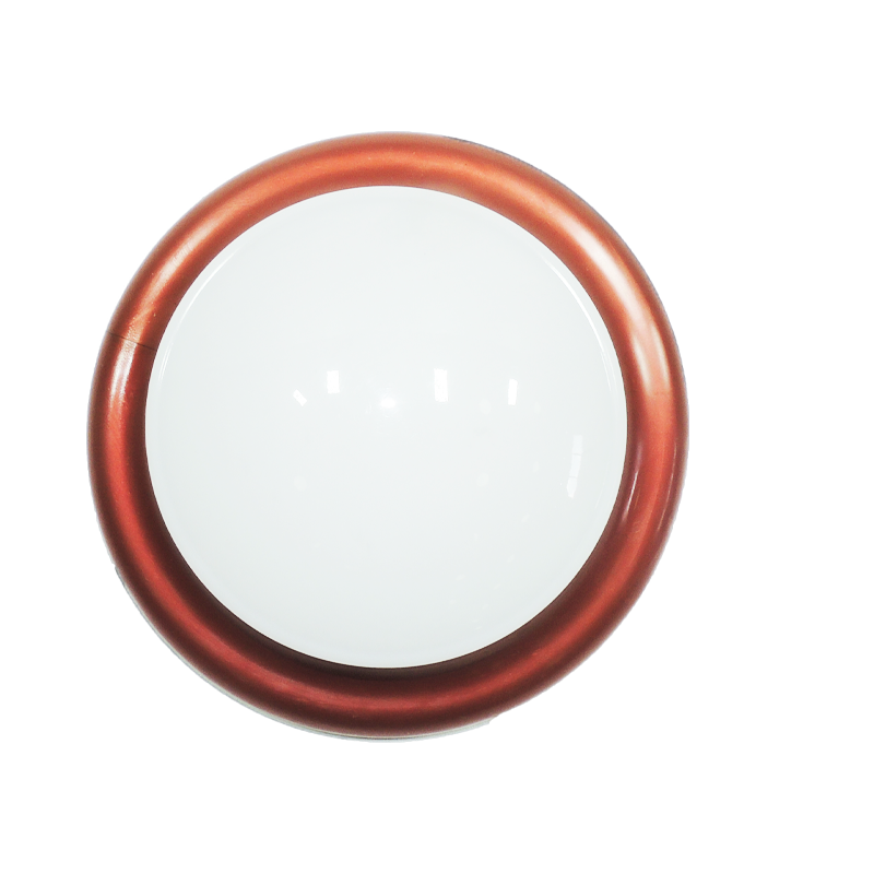 plafon Ideal circular de led sem fixação magnética cobre  - Multiplus Store