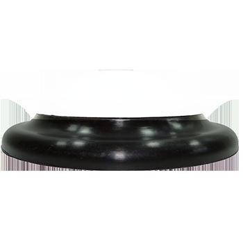plafon Ideal circular de led sem fixação magnética preto