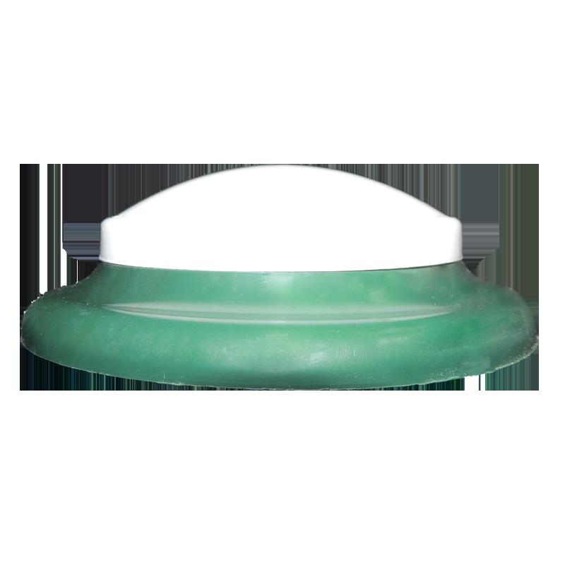 plafon Ideal circular de led sem fixação magnética verde