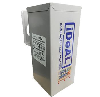100 w ext. pint. c/ base relé reator Ideal vapor met.
