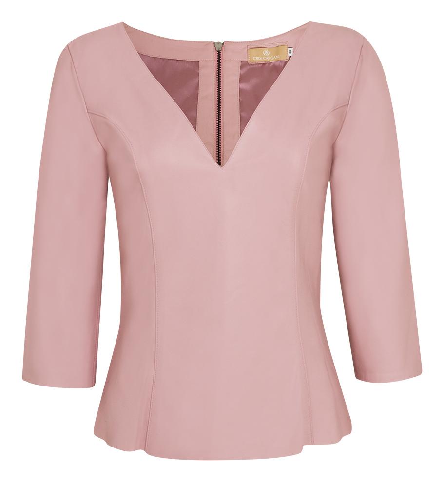 blusa verona decote v