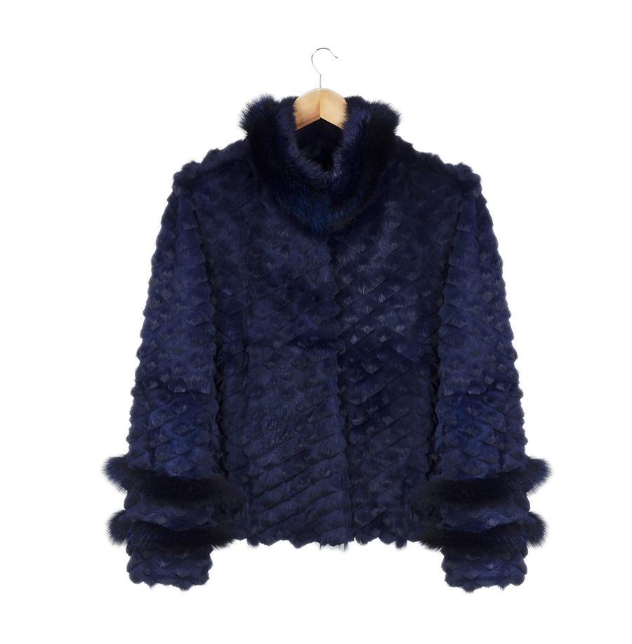 casaco barry navalhado marinho
