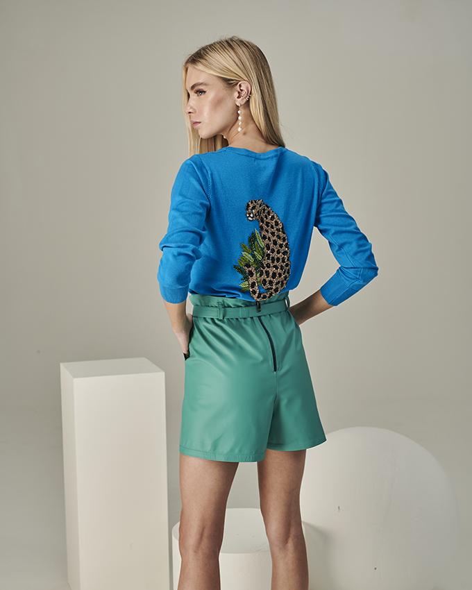 casaqueto guepardo azul