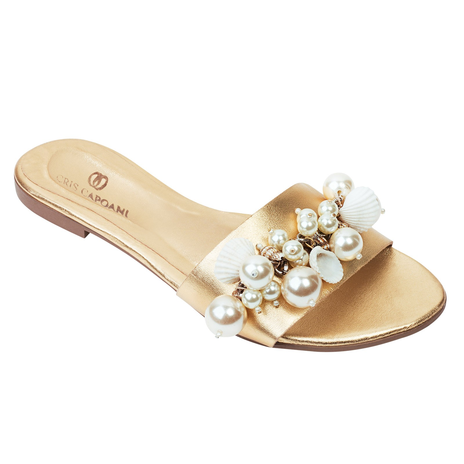 CHINELO GOLD CONCHAS