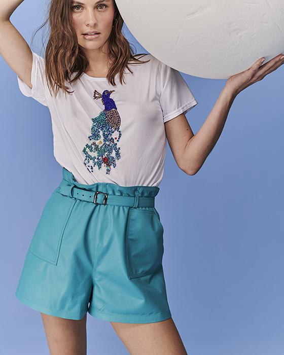 t-shirt pavão