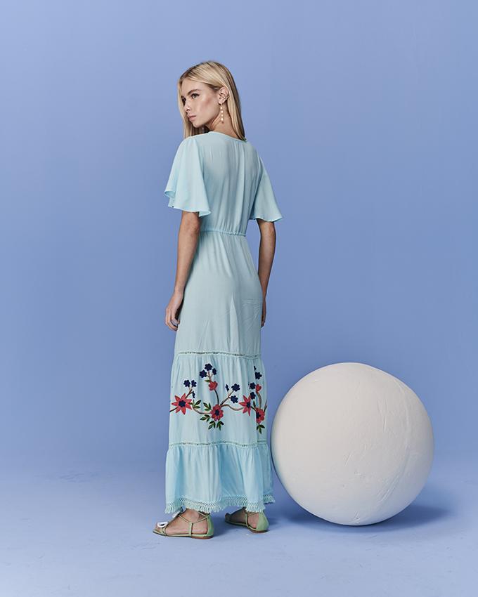 vestido capri