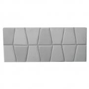 Cabeceira Painel Roma Cama Box Estofada Casal 1,40 cm D'classe Decor Suede Bege