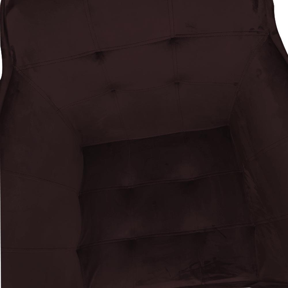 kit 03 Poltrona Vitória Decoração Luxo Pé Palito Sala Estar Escritório Recepção Clinica D'Classe Decor Veludo Bordô