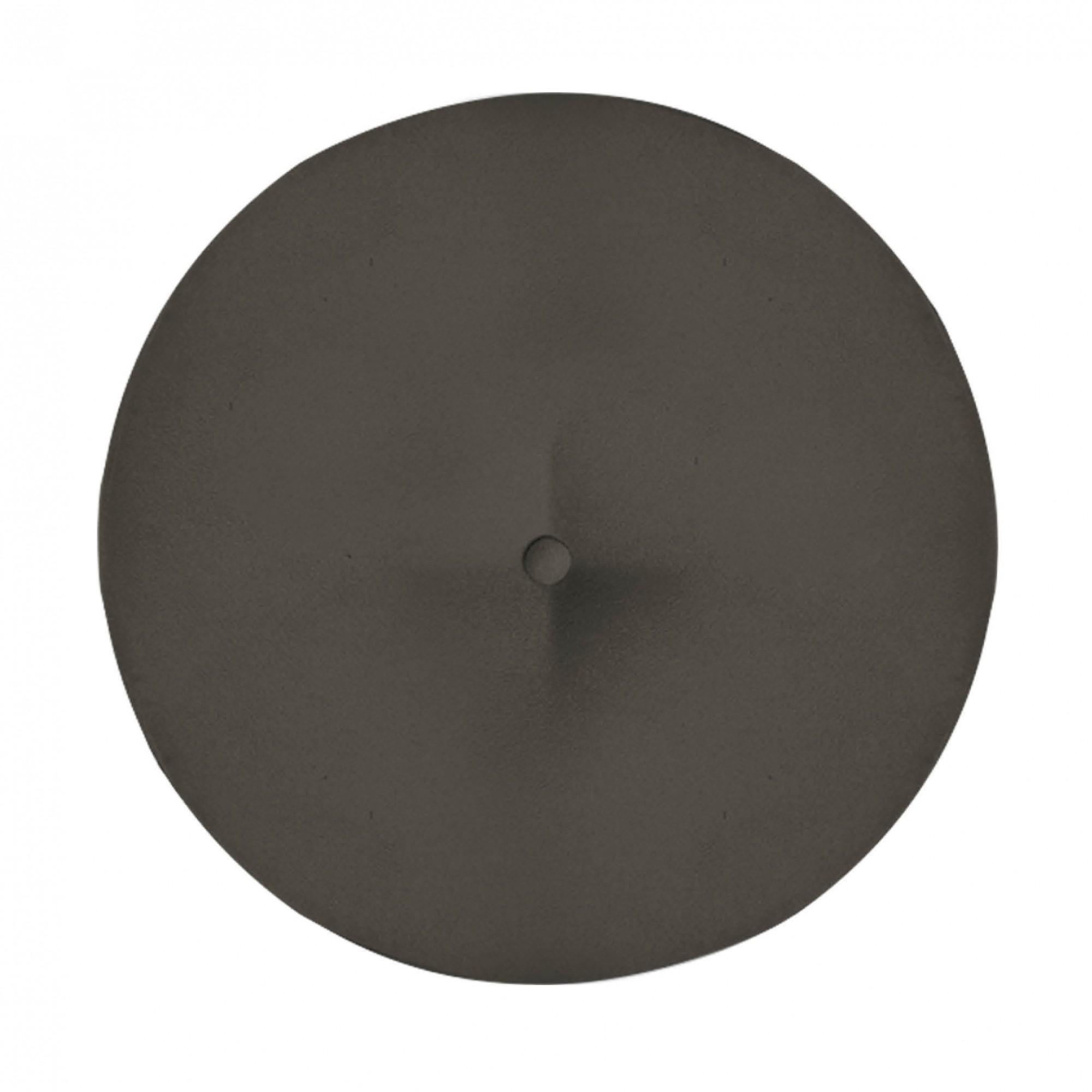 Kit 04 Puffs Duda Decorativa Sala de Estar Recepção Pé Palito Suede Marrom Rato D10 - D´Classe Decor
