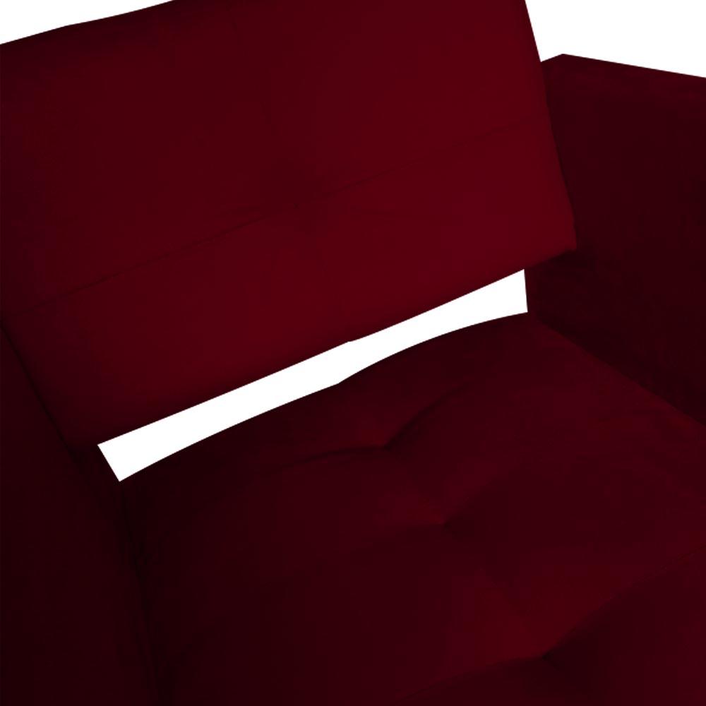 Kit 05 Poltrona Jollie Decoração Pé Palito Luxo Cadeira Sala Estar Escritório Recepção Suede Marsala