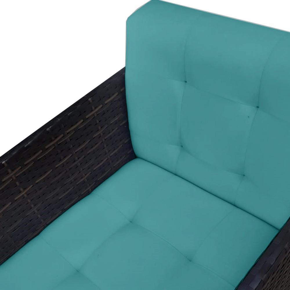 Kit 5 Poltronas Hungria Decoração Pé Palito Escritório Recepção Clinica Sala Estar D'Classe Decor Suede Azul Tiffany