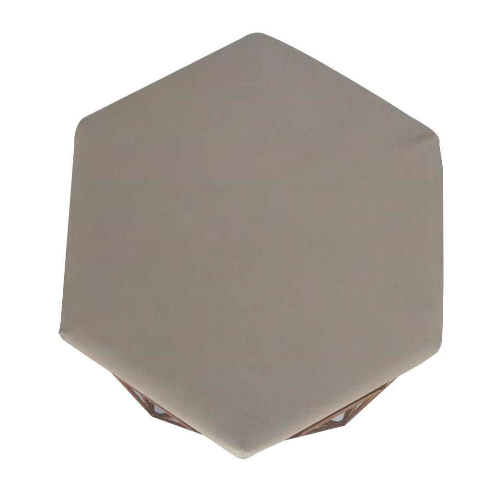 Kit 3 Puff Diamante Aramado Decoração Banqueta Salão Sala Estar Quarto D'Classe Decor Suede Bege