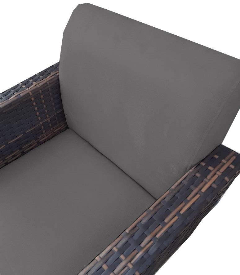 Kit Namoradeira + 2 Poltrona Chanel Decoração Pé Palito Cadeira Escritório Clinica D'Classe Decor Suede Grafite
