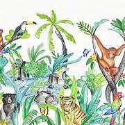 Faixa Papel de Parede bebê IMAGINE FUN2 safari