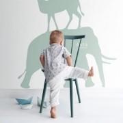 Painel Infantil coleção Safari elefante animais selva