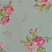 Papel de Parede Importado English Florals G34314 Floral Azul