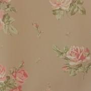 Papel de Parede Importado English Florals G34317 Floral Bege