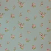 Papel de Parede Importado English Florals G34346 Floral Azul