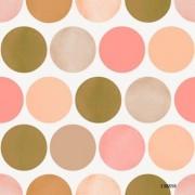Papel de Parede Poá bolas círculos rosa vintage #Fab 138858