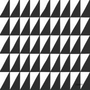 Papel de Parede Infantil LETS P Geométrico preto e branco retângulos